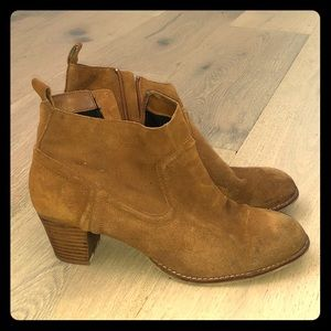 Dolce vita, tank ankle booties!